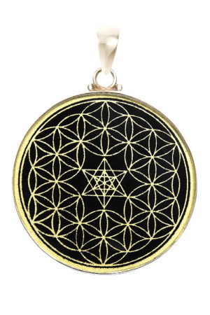 Black Tourmaline Gold Pendant The Soul Alchemist