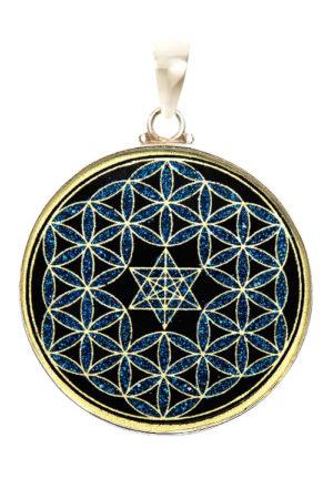 Black Tourmaline Mystic Blue Pendant The Soul Alchemist