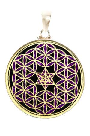 Black Tourmaline Purple Pendant The Soul Alchemist