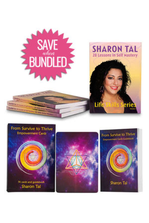 Survive to Thrive Empowerment Cards Book Bundle